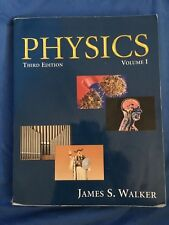 PHYSICS, VOL 1 3RD EDITION By James S Walker Textbook