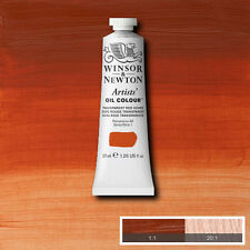 WINSOR & NEWTON Artist Oil Color  Paint Transparent Red Ochre 37ml 1214-647