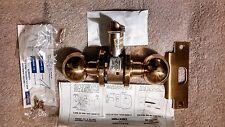 Dexter Duralock 7452DC Storeroom Lockset Polished Brass