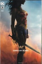 JUSTICE LEAGUE (deutsch) # 54 WONDER WOMAN MOVIE VARIANT COMIC CON DORTMUND 2016
