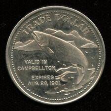 1981 Campbellton NB New Brunswick Trade Dollar Token Canada