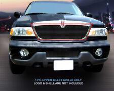 98-02 Lincoln Navigator Black Billet Grille Grill Upper Insert Fedar
