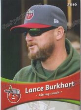 2016 Fort Wayne Tin Caps Lance Burkhart Padres HC