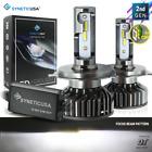 Syneticusa 9003 H4 Led Headlight Kit High Low Beam 6000k White Light Bulbs