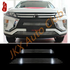 Stainless Front Bumper Grille Trim Cover For Mitsubishi Eclipse Cross 2017-2020