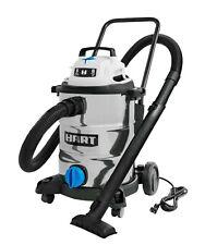 Hart 8 Gallon 6.0 Peak Hp Stainless Steel Wet/Dry Vacuum