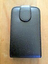 Protector De Cuero PU Abatible Estuche/cubierta/cartera para BLACKBERRY 9800 TORCH Teléfono