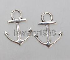 60pcs Tibetan Silver Anchor Fashion Charm Pendant 18X14X2MM F3359