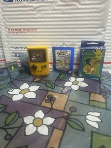 Nintendo Pokemon Game Boy Color Ball Burger King Toy Charizard 50 Piece Puzzle +