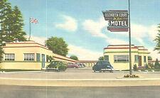VIntage Postcard-Elizabeth Court Deluxe Motel, Ontario, Canada