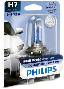 Philips 12972CVB1 - Crystal Vision H7 Globe 12V 55W fits Audi A3 1.6 (8L1) 74...