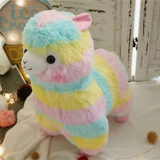 "Amuse Rainbow Arpakasso Alpacasso 14"" Colourful Alpaca Plush Doll JAPAN toy Gift"