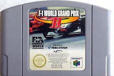CARTUCCIA NINTENDO 64 F-1 WORLD GRAND PRIX II  RETRO GAME PAL