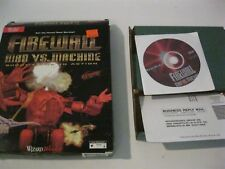 Firewall Man VS. Machine PC game complete CD-ROM Wizard Works 1994