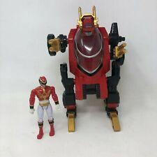 Power Rangers Samurai Red Transporter Vehicle Morphs Ranger