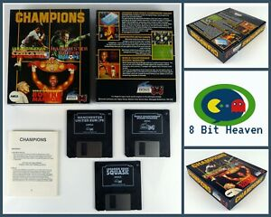 CHAMPIONS COMPILATION BY KRISALIS SOFTWARE FOR COMMODORE AMIGA -TESTED & WORKING