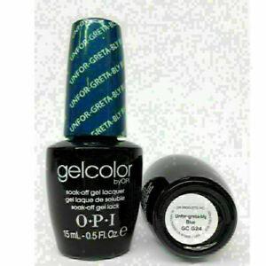 OPI All Colors New Soak Off UV/LED Gel Nail Polish Base Top Coat 15ml PICK UP