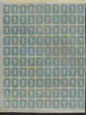 Confederate States #11 Archer & Davis Bank Note Engineers Richmond Va Plt2 SHEET
