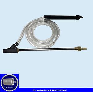 Sandstrahl- Set für Hochdruckreiniger Black & Decker, BARICUS,  Bosch AQT