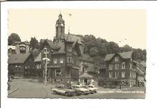AK Lauscha Hüttenplatz mit Kirche  1965