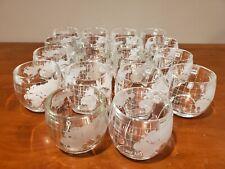 Vintage Lot of 18 Nestle World Globe Glasses Mugs