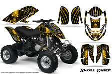 CAN-AM DS650 DS650X CREATORX GRAPHICS KIT DECALS SKULL CHIEF Y
