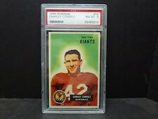 1956 BOWMAN # 16 - 1956 Charley Connerly - PSA 8 Graded Card