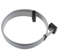 1PCS 70CM 2.54mm 10 Pin USB ASP ISP JTAG AVR wire 10P IDC Flat Ribbon DATA Cable