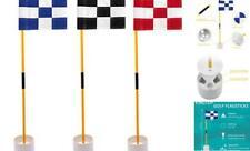 Kingtop Golf Flagsticks Mini, Putting Green Flag for Yard, All 3 Feet, Golf Pin