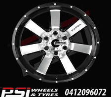 "20"" INCH ADVANTI MAMBA 2 WHEELS 20X9 6x139.7 12P COLORADO RANGER DMAX HILUX BT50"