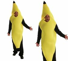 Adults  Banana Inflatable Costume Prop Fancy Dress Halloween Cosplay Dress L4J6