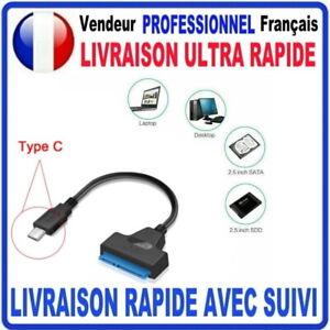 Adaptateur SATA 2.5 vers USB TYPE-C câble HDD/SSD