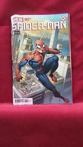 WEB OF SPIDER-MAN #1 (OF 5) BAGLEY VAR 4.0/VG MARVEL COMICS