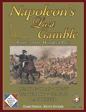Napoleon's last gamble, batailles des cent jours 16-18 et 28 juin 1815