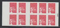 France 2008 non-denominated Marianne Sc 3083a cplte booklet  Mint NH