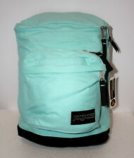 JANSPORT BARHOP (AQUA/LEATHER) w/Laptop Pouch BACKPACK BRAND NEW w/TAGS!!