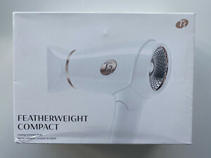 T3 Featherweight Compact Hair Dryer Folding Travel New Damage Box