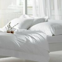 Luxury White 100% Egyptian Cotton Bed Linen 400 Thread Count