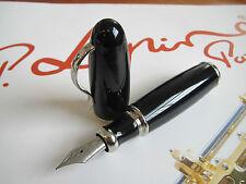 Jean-Pierre Lepine Attila AT0F black resin fountain pen MIB