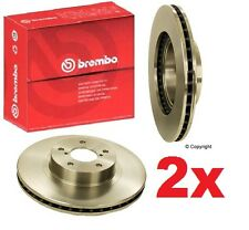 2-Brembo Front Disc Brake Rotor for Subaru Forester Impreza Legacy Outback