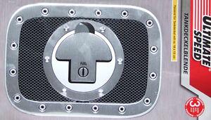 Edel Tankdeckel Blende Racing Sport Design Tuning Alu Carbon Optik 18 x 13 cm