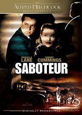 SABOTEUR (PRISCILLA LANE-ROBERT CUMMINGS) B&W NEW AND SEALED