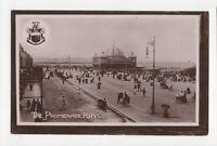 The Promenade Rhyl 1910 RP Postcard 208a