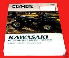 Kawasaki 220/250 Bayou 1988-2003 Clymer Shop/Repair Manual