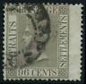 """Straits Sattlements 1909 """"Königin Viktoria"""", MiNr 18 A gestempelt"""