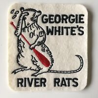 Vintage Georgie White's Royal River Rats Patch Legendary Female River Rafter