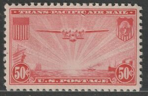 Scott C22 50¢ China Clipper over the Pacific Air Mail Mint Single Hinged
