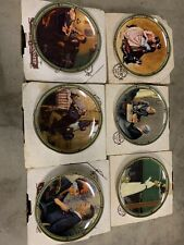 Bradford Exchange Rockwell's American Dream Series Collector Plates