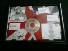 Framed CD With Guitar Plectrum And Facsimile Autographs - The Beatles Revolver