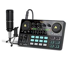 More details for maono portable all-in-one podcast production studio with microphone au-am200-s1